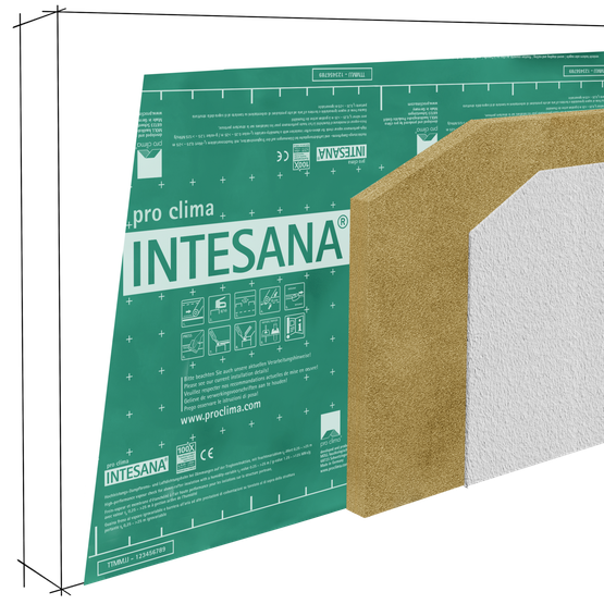 CAR INTESANA 3-D Wand