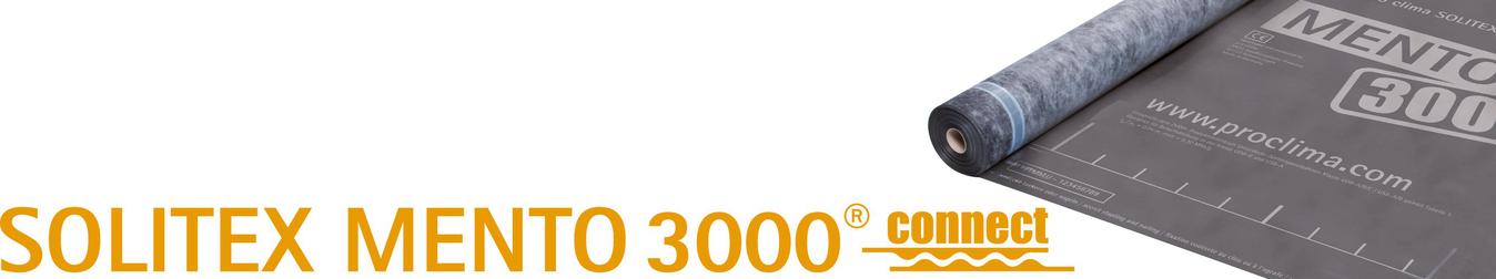 pro Clima Solitex Mento 1000 connect Unterdeckbahn Rolle 75 m2